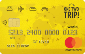 Карта One Two Trip от Tinkoff